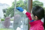 ガラス両面クリーニング